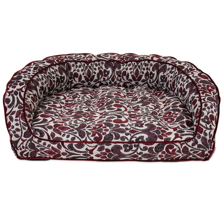 "La Z Boy Harper Merlot Sofa Dog Bed, 43"" L X 35"" W, Xx Large"