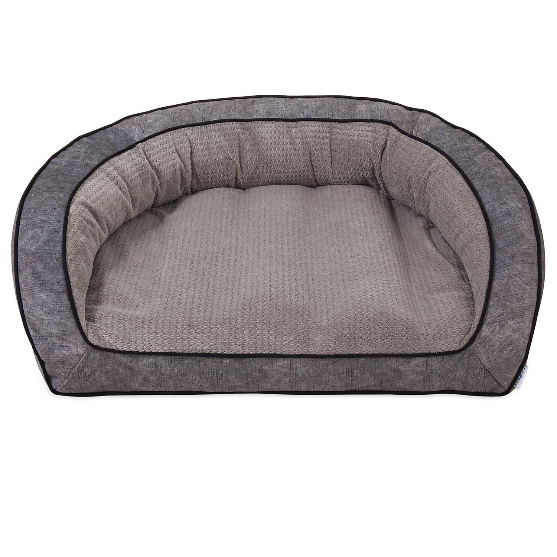 """La Z Boy Harper Smoke Sofa Dog Bed, 43"""" L X 35"""" W, Xx Large"""