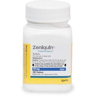 Zeniquin 50 mg Tablets