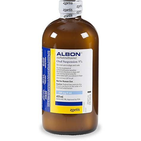 Albon Oral Suspension, 16 fl  oz
