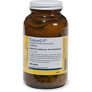 Temaril-P 5mg/2mg Tablets