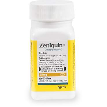 Zeniquin 25 mg Tablets