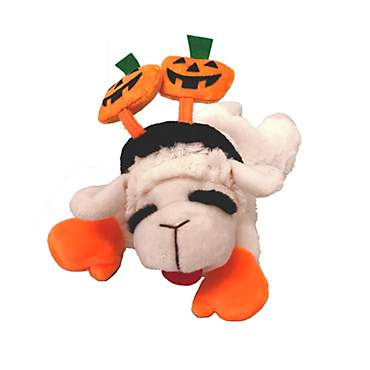 Multipet Halloween Lamb Chop Dog Toy