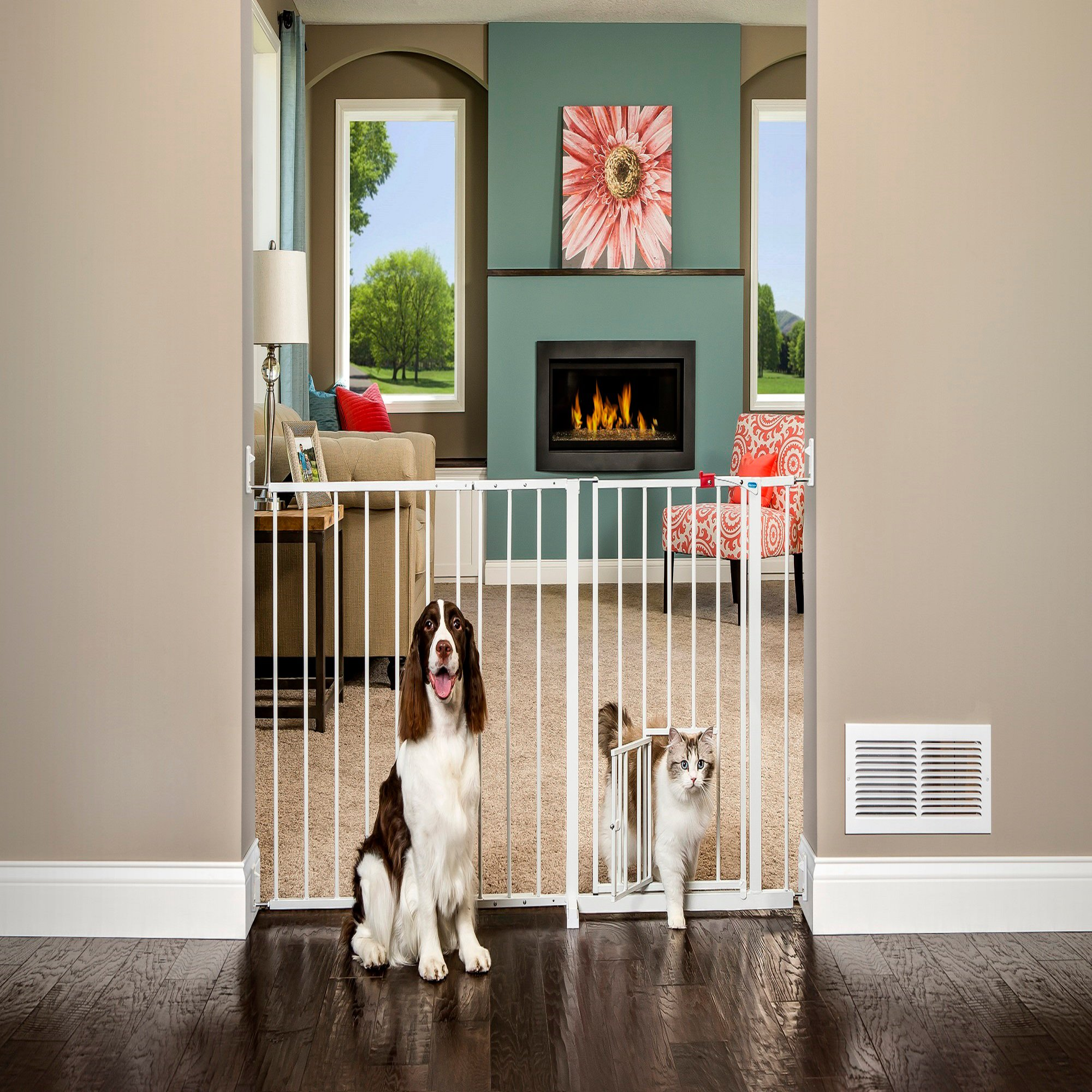 Carlson Pet Products Maxi Gate With Door