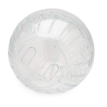 Kaytee Clear Run-About Exercise Ball for Small Animals, 7