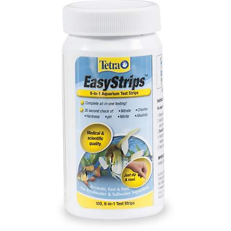 Tetra Easystrips 6 In 1 Freshwater And R Aquarium Test Strips 100 Count