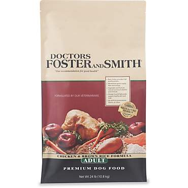Drs. Foster and Smith Signature Series Chicken & Brown Rice Formula Adult Dry Dog Food