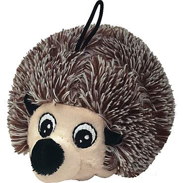 Petlou EZ Squeaky Hedgehog Ball Plush Dog Toy