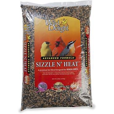 Wild Delight Sizzle N' Heat Seed Blend for Wild Birds