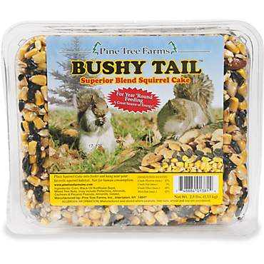 Pine Tree Farms Bushy Tail Squirrel Cake Food for Squirels