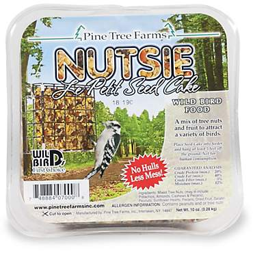 Pine Tree Farms Nutsie Seed Cakes for Wild Birds