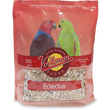 Volkman Avian Science Super Eclectus Parrot Diet Bird Food