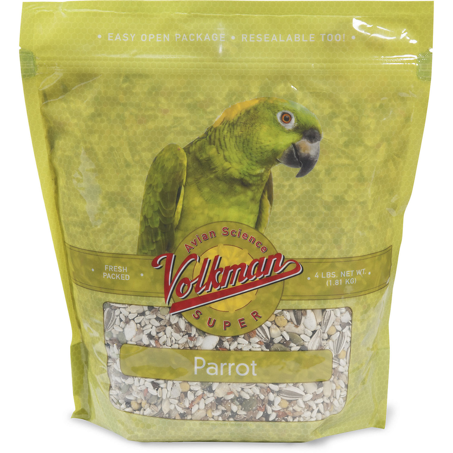Image of Volkman Avian Science Super Parrot Diet Bird Food, 4 lbs.