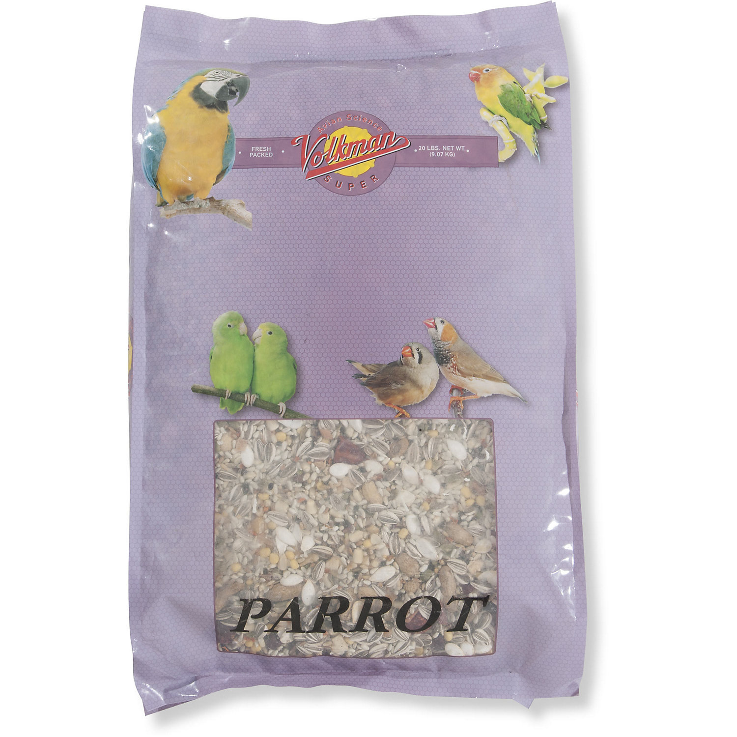 Image of Volkman Avian Science Super Parrot Diet Bird Food, 20 lbs.