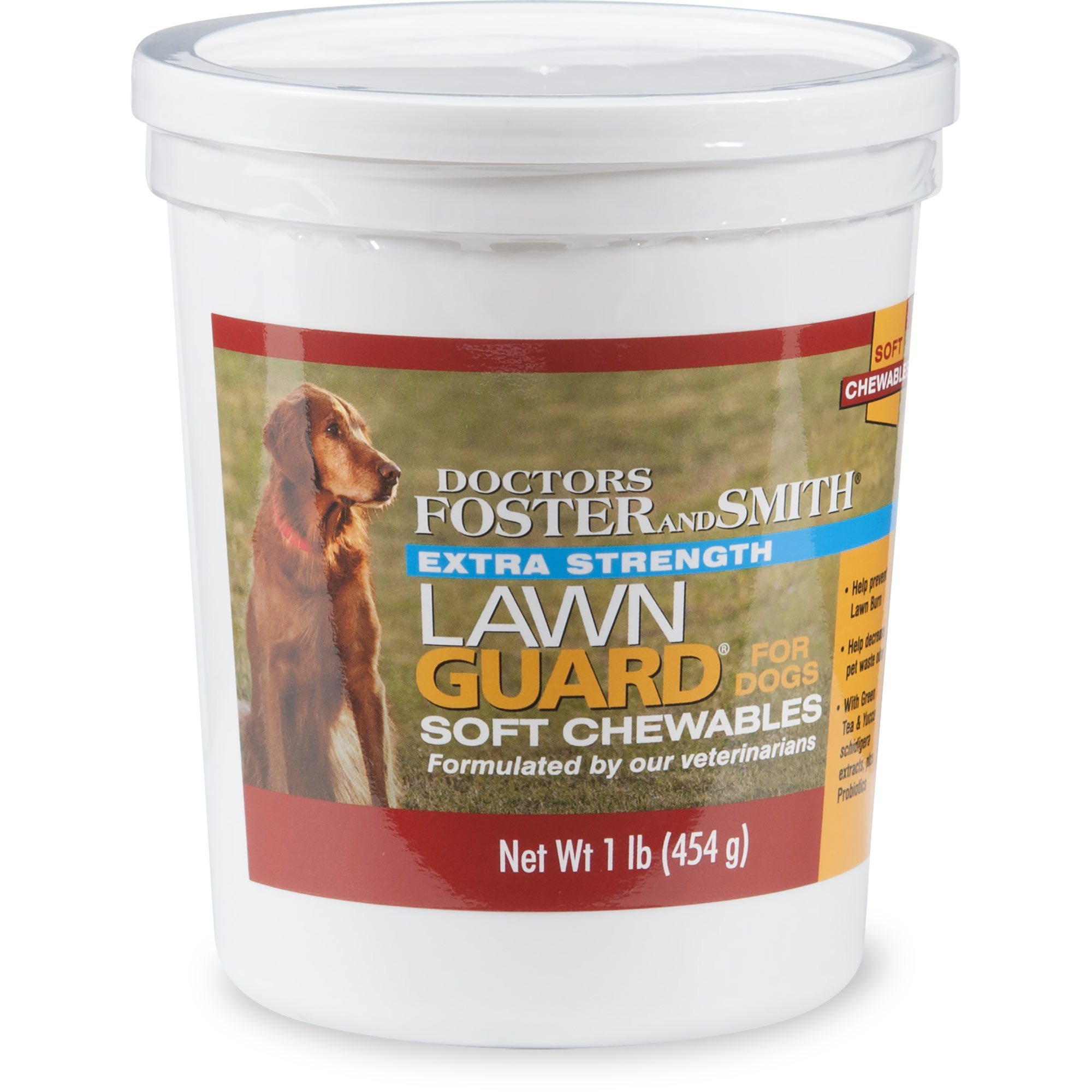 Drs  Foster and Smith Extra Strength Lawn Guard Soft Chews for Dogs, 2 lbs   | Petco