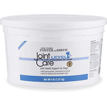 Drs. Foster and Smith Level 1+ Joint Care Soft Chews for Dogs