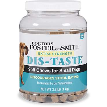 Drs. Foster and Smith Extra Strength Dis-Taste Soft Chews for Small Dogs