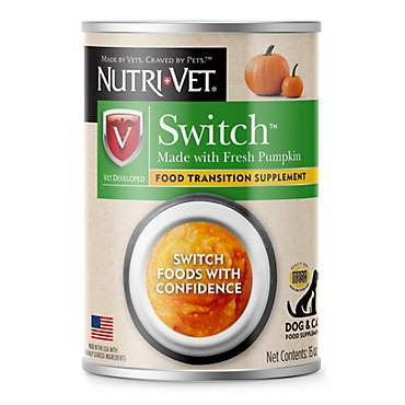Nutri-Vet Switch Food Transition Supplements For Dogs