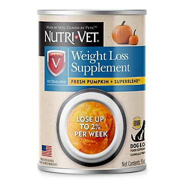 Nutri-Vet Weight Loss Pumpkin Supplements For Dogs