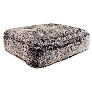 Bessie and Barnie Frosted Willow Ultra Plush Faux Fur Luxury Shag Durable Sicilian Rectangle Pet Bed