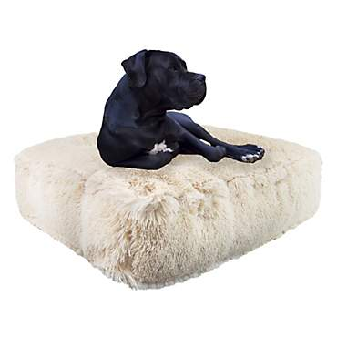 Bessie and Barnie Blondie Ultra Plush Faux Fur Luxury Shag Durable Sicilian Rectangle Pet Bed