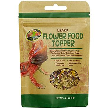 Zoo Med Lizard Flower Food Topper