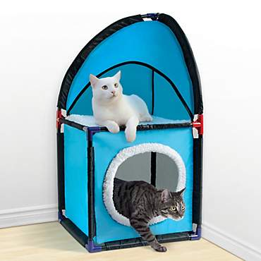 Pet Parade 2-tier Cat Corner Tower