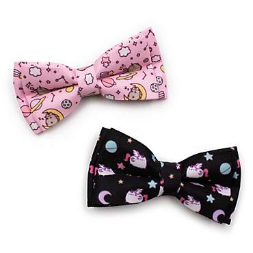 Pusheen Pattern Pet Bow Tie