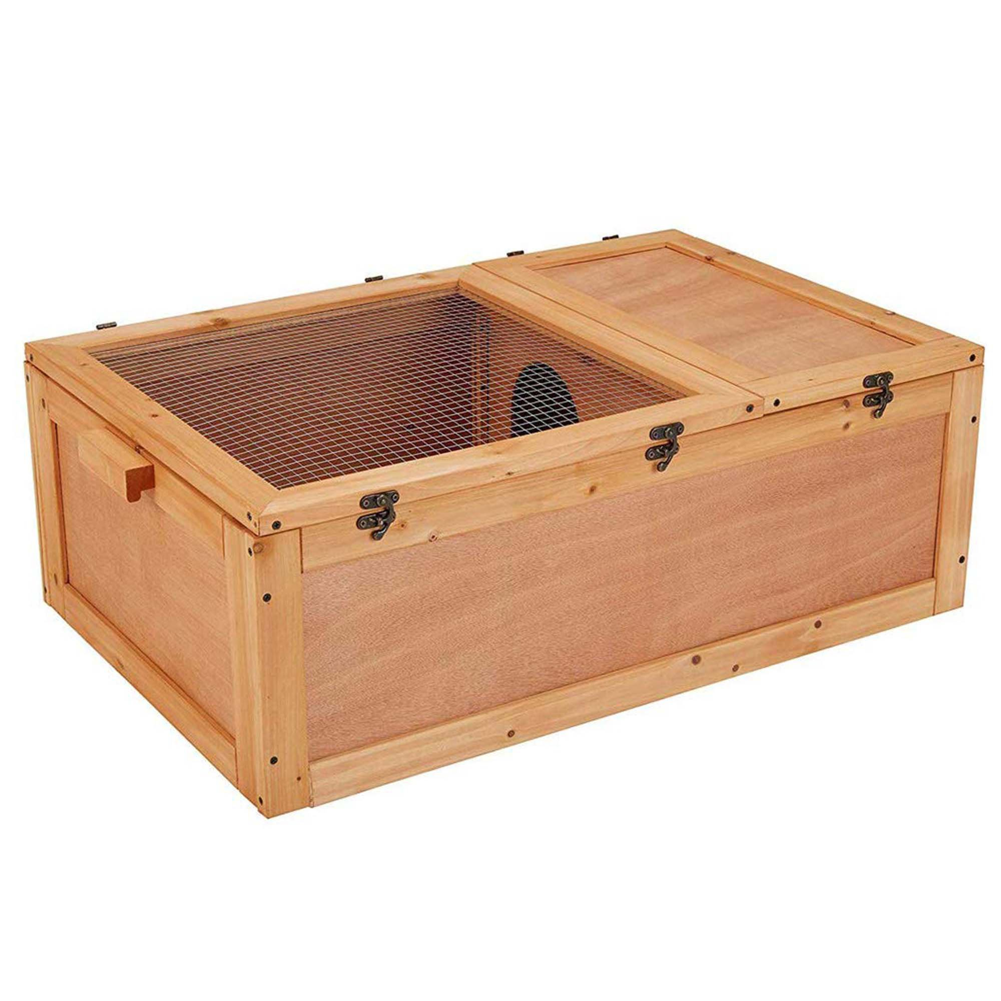 UniPaws Wooden Tortoise House | Petco