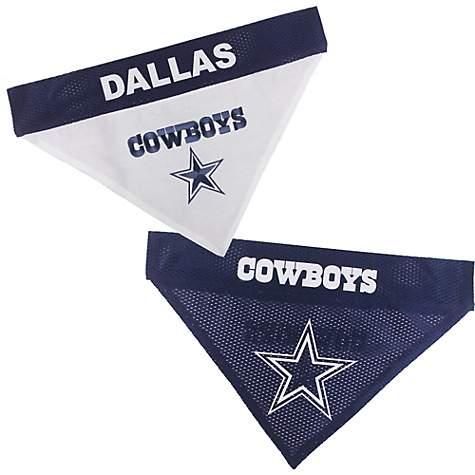 los angeles 231d7 63c29 Pets First Dallas Cowboys Reversible Pet Bandana, Small/Medium