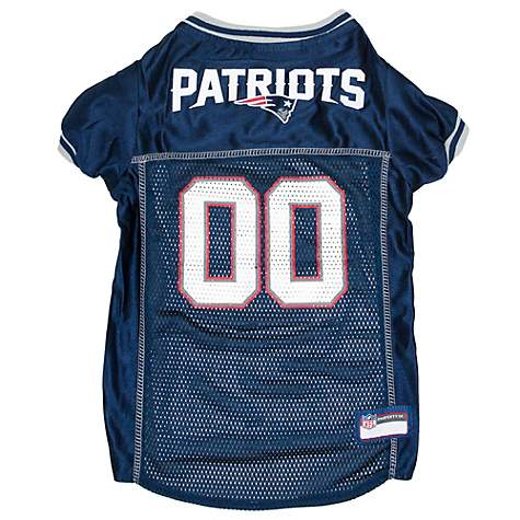super popular 1b917 38edc Pets First New England Patriots Mesh Jersey for Dogs, XX-Large