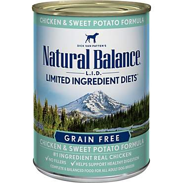 Natural Balance L.I.D. Limited Ingredient Diets Chicken & Sweet Potato Formula Wet Dog Food