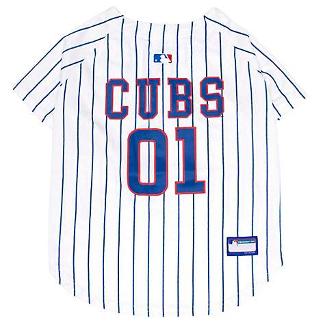 huge selection of 7ce4c 25d53 Pets First Chicago Cubs Jersey for Dogs, XX-Large
