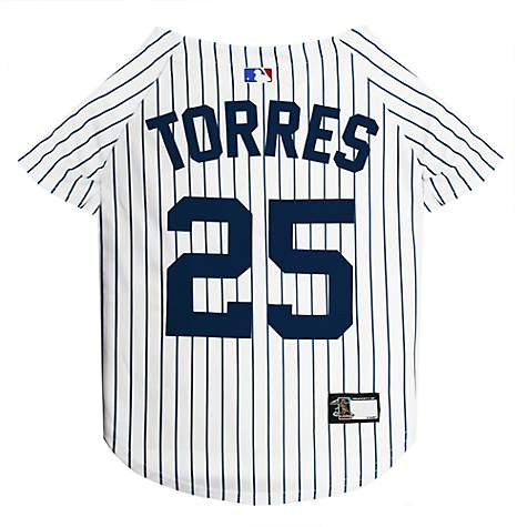 best service db2b6 ec754 Pets First Gleyber Torres Jersey (YAN) for Dogs, Small