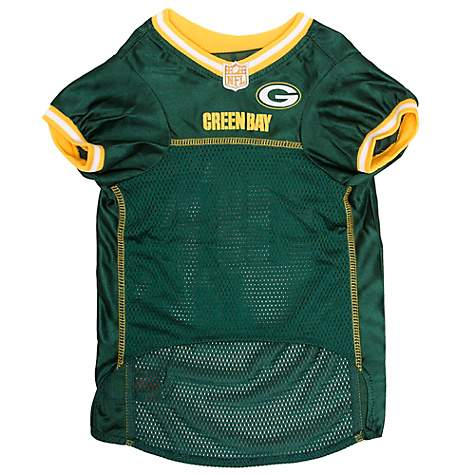 official photos e1a71 30947 Pets First Aaron Rodgers Jersey (GBP) for Dogs, Small