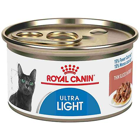 Royal Canin Feline Health Nutrition Ultralight Thin Slices In Gravy Wet Cat Food