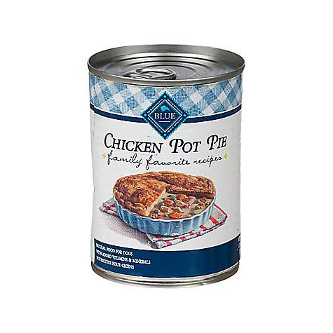 Blue Buffalo Blue Family Favorite Recipes Mom'S Chicken Pie Adult Canned Dog Food