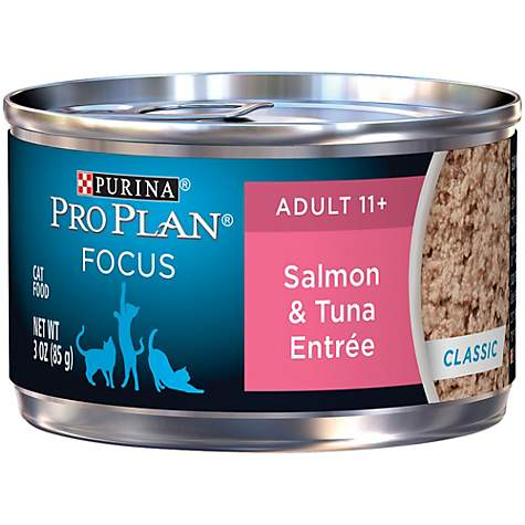 Purina Pro Plan Focus Adult 11+ Classic Salmon & Tuna Entree Wet Cat Food