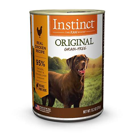 Instinct Grain-Free Chicken Formula Canned Dog Food by Nature's Variety