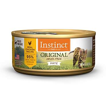 Instinct Grain-Free Chicken Canned Cat Food by Nature's Variety