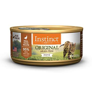 Instinct Grain-Free Duck Canned Cat Food by Nature's Variety
