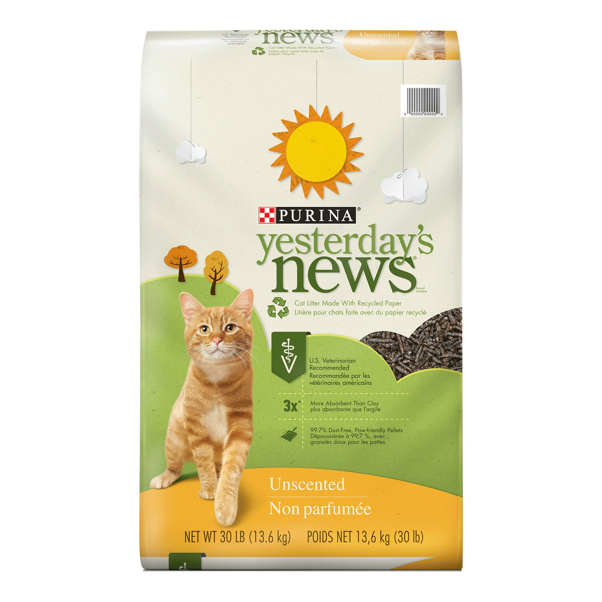 Purina Yesterday S News Original Paper Pellet Unscented