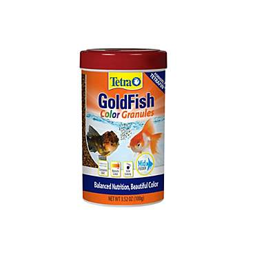 TetraColor Goldfish Granules Food