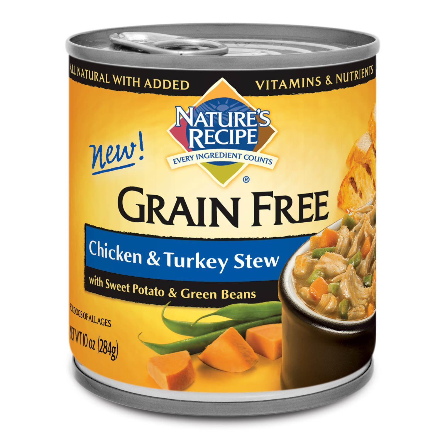 Natures recipe grain free chicken venison stew canned dog food natures recipe grain free chicken turkey stew canned dog food forumfinder Image collections