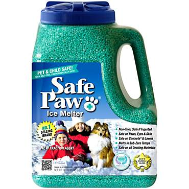 Safe Paw Saltfree Ice Melter for Dogs