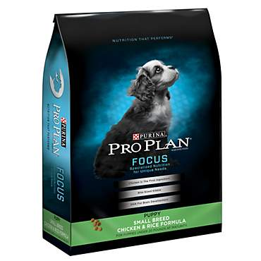 Purina Pro Plan Focus Small Breed Chicken & Rice Formula Dry Puppy Food
