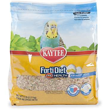 Kaytee Forti-Diet Pro Health Healthy Support Diet for Parakeets