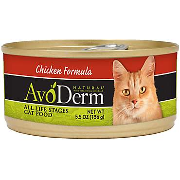 AvoDerm Natural Chicken Formula Canned Wet Cat Food