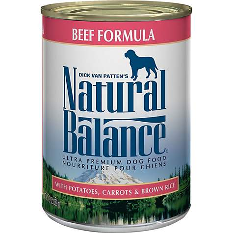 Natural Balance Ultra Premium Beef Formula Wet Dog Food Petco