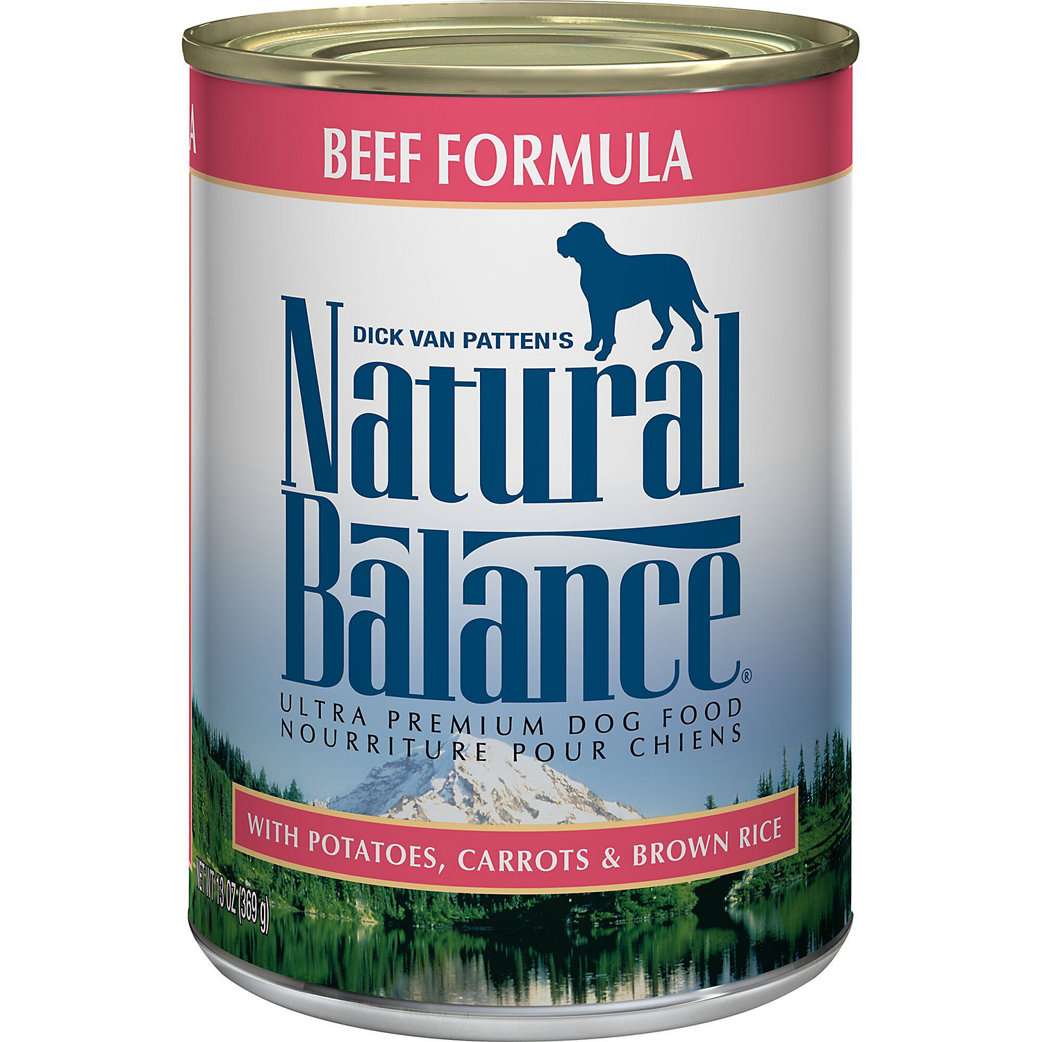 Natural Balance Ultra Premium Beef Formula Wet Dog Food, 13 Oz., <br /><br />Case of 12